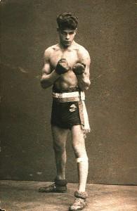 Johann Wilhelm Trollmann als Nordeutscher Meister der Amateure, 1928